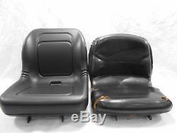 Black Seat John Deere Compact Tractors 670,770,790,870,970,990,1070,4005 #fsai