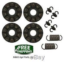 Brake Disc & Spring Repair Kit John Deere 40 420 430 320 330 1010 Tractor