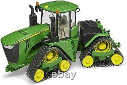 Bruder John Deere Tractor 9620RX & Track Belts Childrens Farming Toy Scale 116