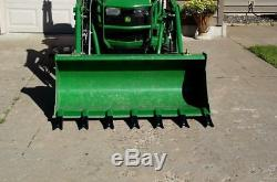 Bucket Tooth Bar, Clamp On for Sub-Compact Tractor No Drilling Required