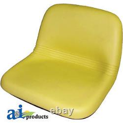 Compatible With John Deere SEAT HIGH BACK YLW AM115813 LX188, LX186, LX178, LX17