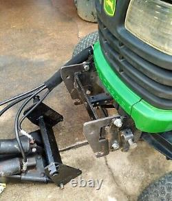 Complete Adapter Kit 54 Blade Plow For 318 To John Deere X475 X595 X700 Tractor