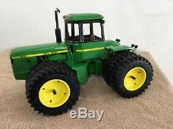 Custom John Deere 1/16 scale 8450 four wheel drive tractor. Ertl
