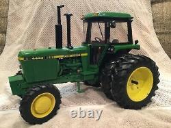 Custom John Deere 4440 Ertl Precision Front Wheel Drive Toy Tractor 1/16