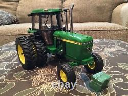 Custom John Deere 4455 Precision Ertl Toy Tractor 1/16