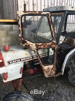 David brown 880 tractor vintage not John Deere or ford. Barn find