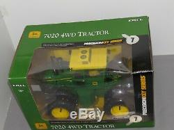 ERTL 116 JOHN DEERE 7020 4WD Precision Key #7 TRACTOR Never removed NIB SHARP