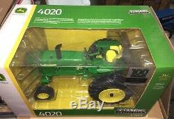 ERTL 2018 JOHN DEERE 100 Years of Tractors 4020 WF Prestige 1/16 NIB