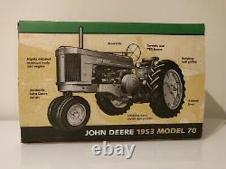ERTL John Deere 1953 Model 70 Tractor (1/8) Scale NIB New