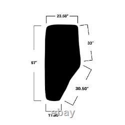 E-R198624 LH Cab Door Glass for John Deere 5075M, 5080, 5090, 5100, 6115, 6140++