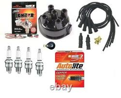 Electronic Ignition Kit John Deere 1010, 2010 4 Cyl Tractor with Delco Distributor