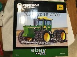 Ertl 1/16 John Deere 7020 Tractor 4WD Precision Key Series #7