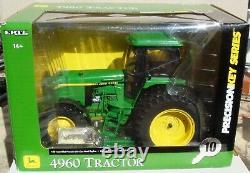 Ertl 1/16 Scale Precision Key Series #10 John Deere 4960 Row-Crop Tractor 45238