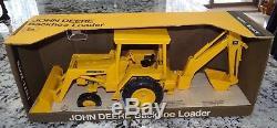 Ertl John Deere Backhoe Loader Tractor 1/16 Diecast Toy 589-7541