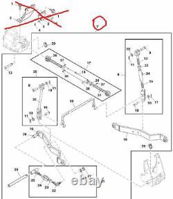 FOR JOHN DEERE 2520, 2720, 2027R, 2032R, 3PT HITCH LVA803672, YANMAR Tractor