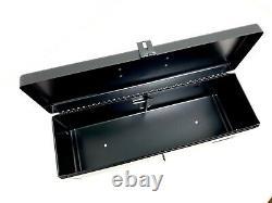 Genuine John Deere SE6420 Tractor Black Metal Tool Box RE275592
