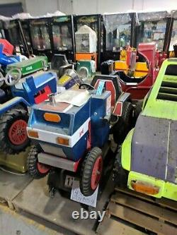 HUGE SELECTION Antique coin operated Tractor John Deere Farmer Kiddie Ride