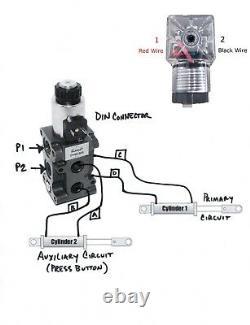 Hydraulic Diverter Selector Valve for John Deere 1025 1023 2025 2032 Tractors