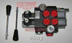 Hydraulic Monoblock Spool Valve Sae Orb Fittings for Kubota L & B Series + 9 GPM