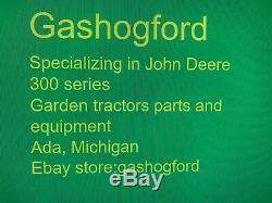 Hydraulic power steering cylinder John Deere tractors 318, 322, 332