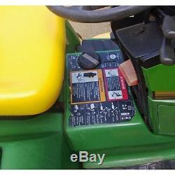 IMPROVED! Remote Mount Lockout Valve for John Deere 425 445 455 Garden Tractor