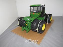 JOHN DEERE 8850 Precision Engineering 4WD Toy Tractor 1/16 CUSTOM Cummins HEAVY