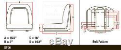JOHN DEERE TRACTOR SEAT WithSLIDE TRACK