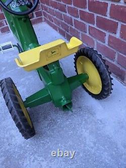 John Deere 10 ESKA 3 Hole Pedal Tractor Restored