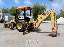 John Deere 110 41 HP Backhoe Loader Tractor 4WD PTO bidadoo