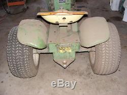 John Deere 110 Garden Tractor Mower shipping is free