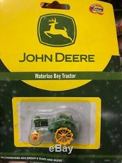 John Deere 11pc Lot Diecast Tractors Athearn Ertl Rare NRFB
