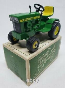 John Deere 140 Lawn And Garden Tractor By Ertl 1/16 Scale In Box