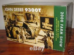 John Deere 1/16 9300T Farm Progress Show NIB Ertl CE Collector Tractor Ertl SE