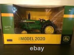 John Deere 2020 standard Tractor NIB! 1/16 scale High Detail Spec Cast