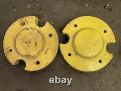 John Deere 210 212 216 300 312 314 416 318 214 Tractor Cast Iron Wheel Weights