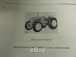 John Deere 2150 and 2255 Tractors Parts Catalog PC-4182