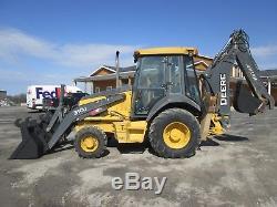 John Deere 310J Farm Tractor Loader Backhoe