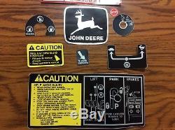 John Deere 318-420 Tractor Decal Set 16