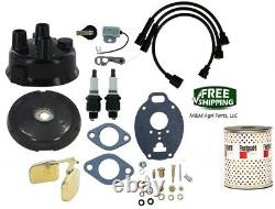 John Deere 320 330 40 420 430 M MT 2 Cylinder Tractor Tune up & Carburetor Kit