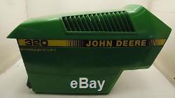 John Deere 320 Lawn Tractor Hood Assembly AM133205 M71004 M71005