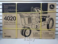 John Deere 4020 Pedal Tractor Ertl Discontinued NIB Unassembled Part # LP51324