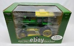 John Deere 4020 Tractor With Front Wheel Assist / FWA & Cab By Ertl 1/16 Scale