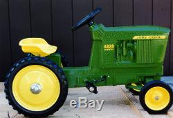 John Deere 4020 Wide Front Pedal Tractor by ERTL NIB! Unassembled