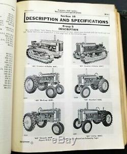 John Deere 420 Series Tractors Service Manual SM 2019 In Binder 1950's