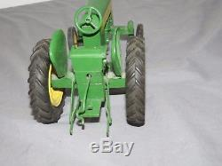John Deere 430 Toy Tractor Ertl Eska with 3 Point 1/16 scale Early RARE! 1950's