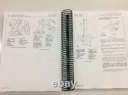 John Deere 450c Crawler Dozer Loader Service Operators Parts Manual 1,000 Pages