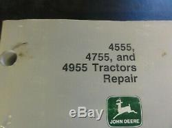 John Deere 4555 4755 4955 Tractors Repair Technical Manual TM1460