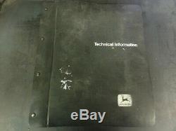 John Deere 4640 and 4840 Tractors Technical Manual TM-1183