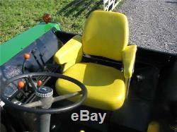 John Deere 4 Piece Tractor Seat Cushion Set