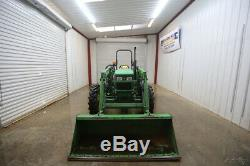 John Deere 5045e Tractor Loader, Open Rops, 4x4, And Ready To Work